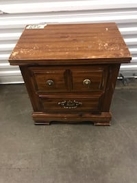 Two draw night stand Lyndhurst