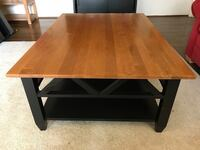 Ethan Allen Coffee Table (west elm, cb2, restoration hardware, pottery barn, crate and barrel Moving sale, yard sale) 33 km