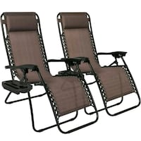 two brown wooden rocking chairs Utica, 43080