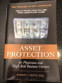 Asset Protection for Physicians and High-Risk Business Owners Book  Del Mar, 92014