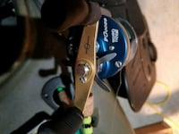black and gray fishing reel Pearland, 77584