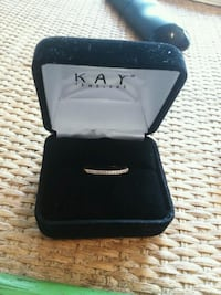 black and silver ring with box Swansboro, 28584
