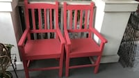 $30 both vintage porch chairs hand made Santa Barbara, 93103