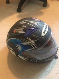 Motorcycle/snowmobile helmet