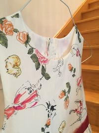 Very cute Animal and Floral print  dress size 8 (girls) Toronto, M5M 1G5