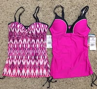 Free Country Swim Tops-small