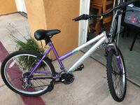 Girls Magna bike. For teenagers to adults. Great condition, but tires need air, and the front brake line just needs to be reattached to the handlebars. San Marcos, 92078
