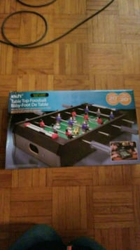 Table Top Foosball Table-Price drop