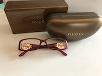 Gucci eyeglasses with case Mississauga, L5B 4G7