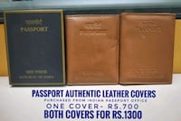 PASSPORT authentic leather covers