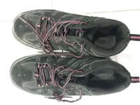 pair of black-and-gray steel toe warehouse shoes Mississauga, L4T 2B6
