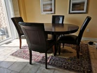 Dining Table with 4 Chairs Milton, L9T 0V8