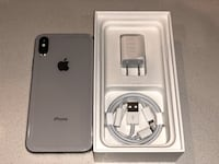 Silver iPhone X 256gb with box and accessories Santa Clara, 95051