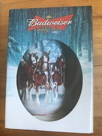Collectible Budweiser holiday beer stein 2007 Worcester, 01604
