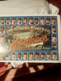 1998 world champion new york yankees  West New York, 07093