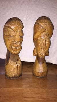 Authentic wooden African statues Upper Marlboro, 20772