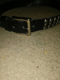 Small Leather Belt w/ Studs