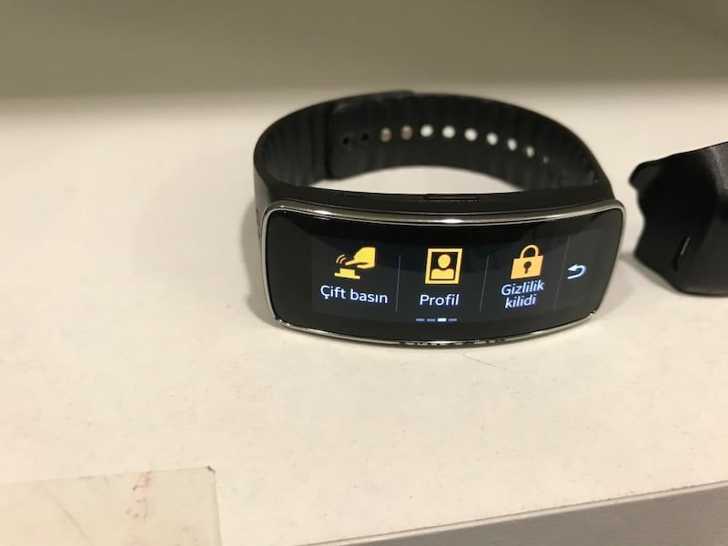SAMSUNG GEAR FİT SM R350 7