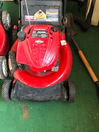 red and black Troy-Bilt push mower Lorton, 22079
