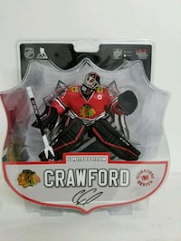 Chicago blackhawks crawford figure- FOR TRADE Richmond, V7C 3L1