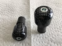 Carbon fiber bar ends