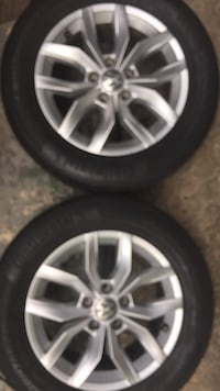 Volkswagen Rims .. you can contact me at  [TL_HIDDEN] ..Katherine bullock,,both rims for $250.00 Jackson, 39204