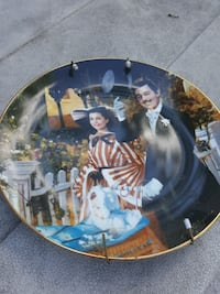 Gone with the wind collector plate New Windsor, 12553