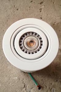 Pot light with LED bulb over 10 available
