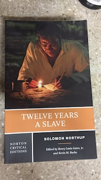"""Twelve Years A Slave"" by Solomon Northup Arcade, 95825"
