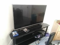 55 in lg HD tv with stand