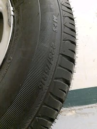Jeep Wrangler set of rims/tires. Barely used Toronto, M4Y 2K2
