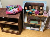 Doll houses and dolls for sale Toronto, M3H