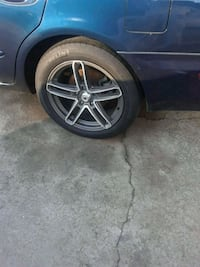 """17"""" wheels for a nissan"""