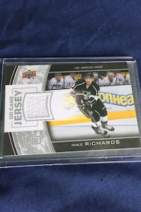 Mike Richards Jersey Card
