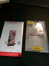 Hauwei p20 pro glass protector or otterbox Mississauga, L5A 2A6