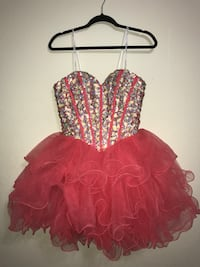 Pink Fluffy Formal, Homecoming, or Prom Dress Diberville, 39540