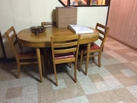 Dining set 5pc SADDLEBROOK