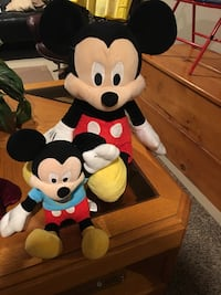 Large and small Mickey Mouse - excellent condition! Warwick, 02888