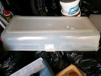 white and gray plastic container Vaughan, L4H 2X8