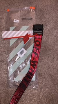 off white belt red Alexandria