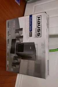 Hauss home theater system Mississauga, L5N 6W5
