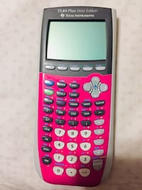 Ti-84 Silver Edition(PINK)TX instruments rechargeable Battery included Gainesville, 20155