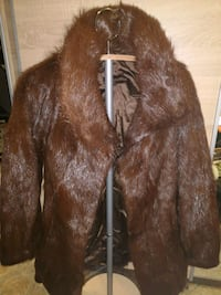 Natural fur jakke