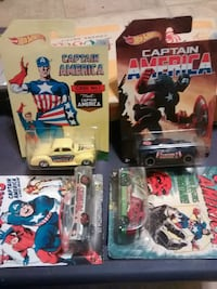 Hot wheels Captain America Urbana, 43078