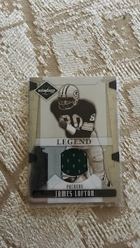 James Lofton jersey card  Stoughton, 53589
