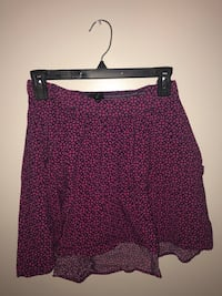 Patterned high-low skirt Calgary, T1Y 5X8
