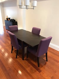 Dining Table (Dark Brown - Extendable) Toronto, M4C 4M8