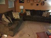 Sofa and loveseat 17 mi