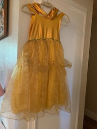 women's yellow sleeveless dress Cathedral City, 92234