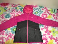 North Facewinter jacket sz 14-16 young girl / was $180...we used OShh kosh bib pants sz 14 - free Edmonton, T5W 0P8